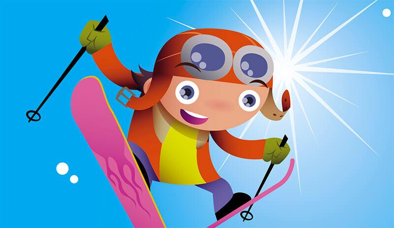 Fun und Action in den Weihnachtsferien: Kinderskikurs am Kasberg
