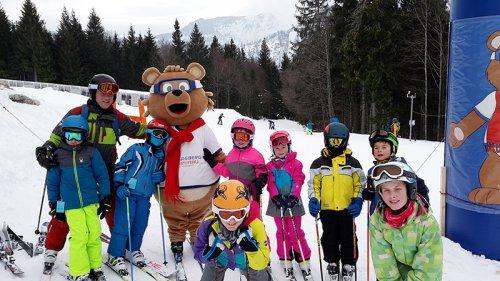 70 Kinder beim Eberstalzeller Skikurs