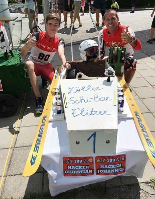 Seifenkistenrennen zum 50 Jahr Jubiläum der UNION